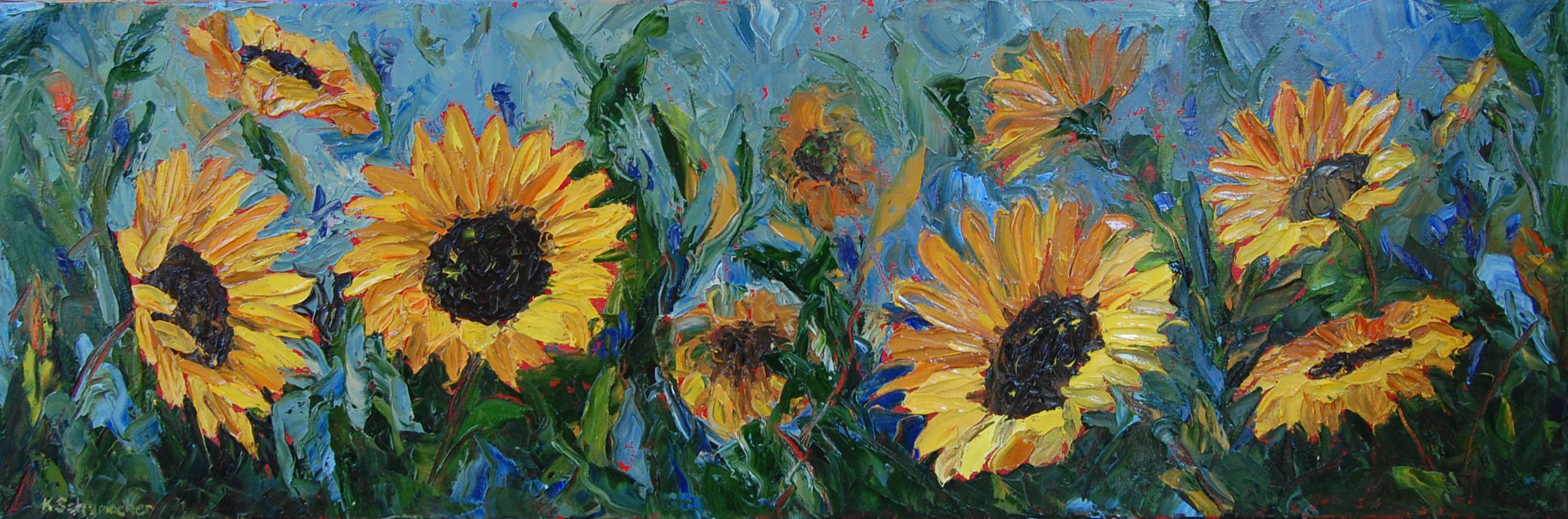sunny side 12x36
