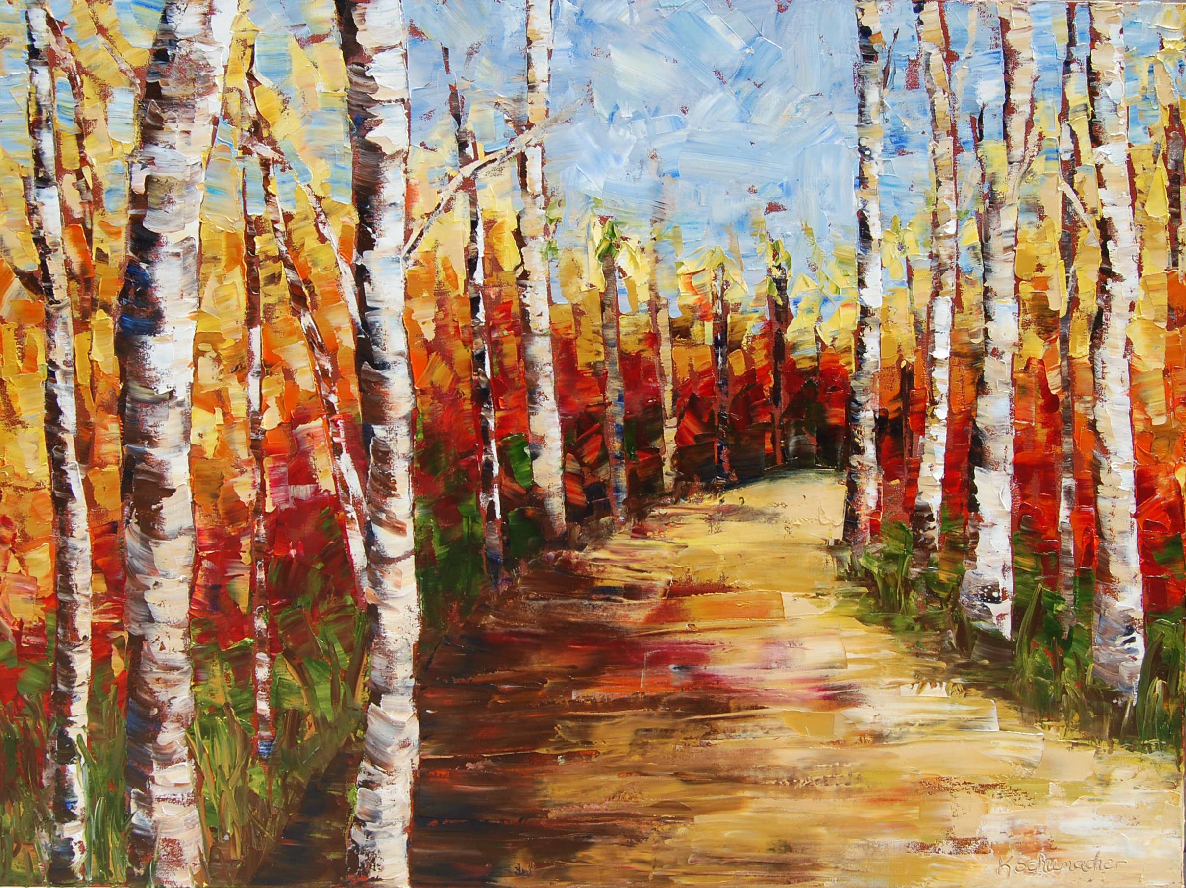 Autumn Stroll 30x40