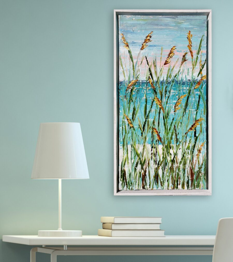 Beach Grass 24×12 hung