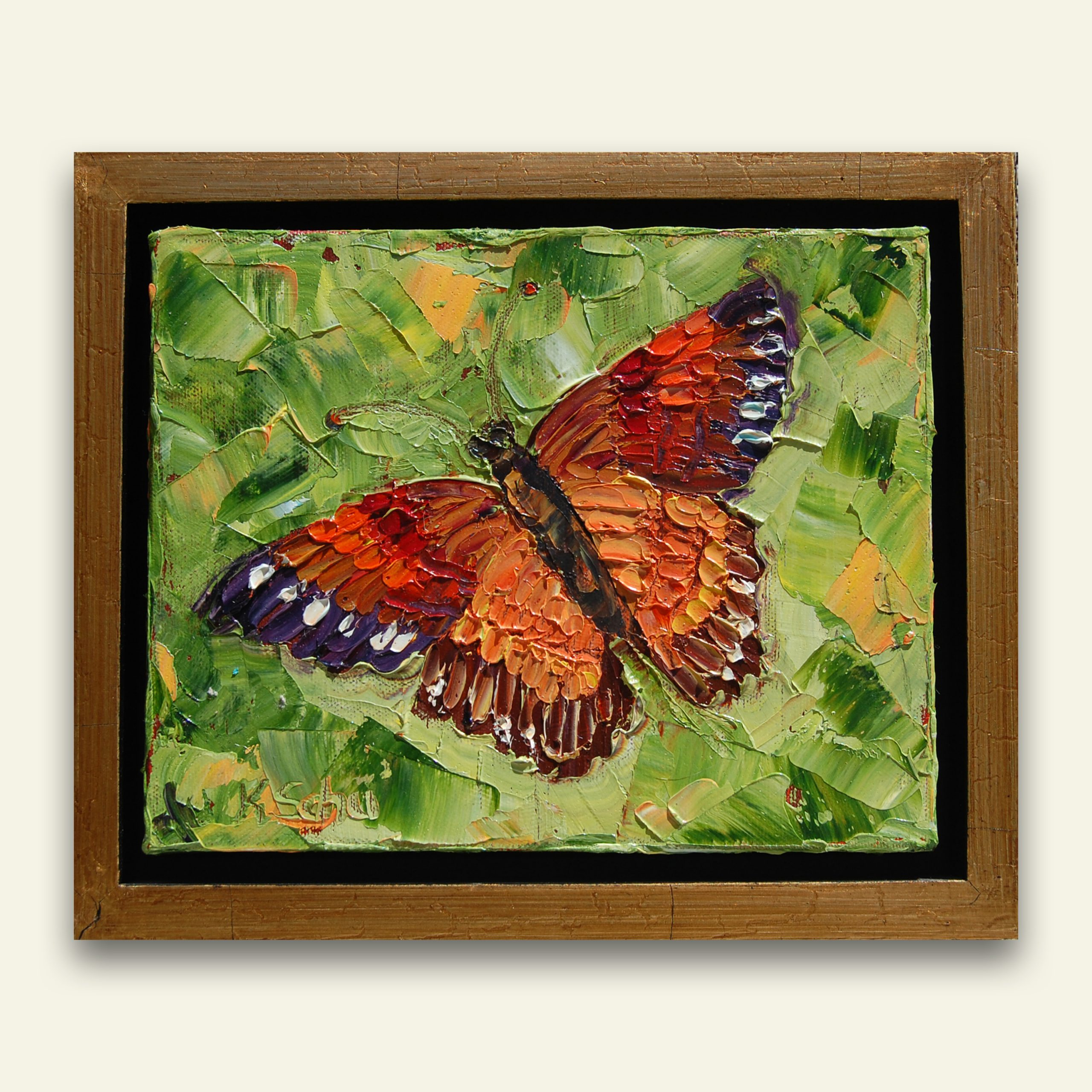 Flutterfly 10×12 full hung