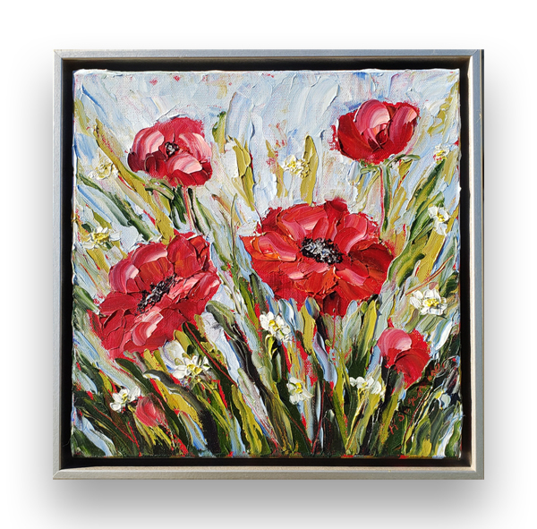 Red perfection 14×14 small hung