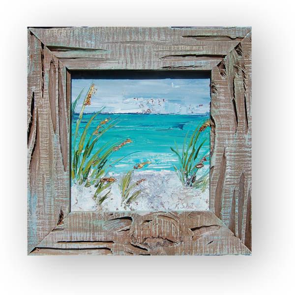 Sea Grass 15×15 hung small