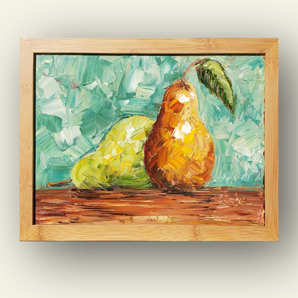 pear down small hung 8×10