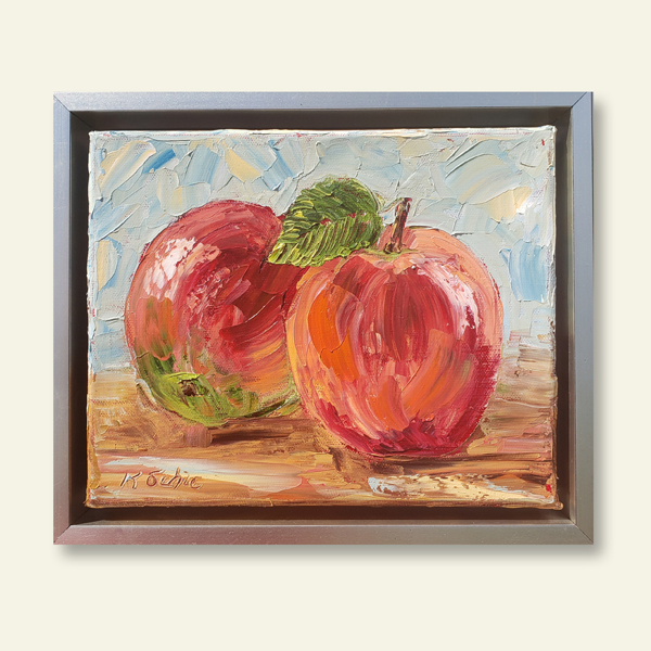 apple beauty 10×12 hung small