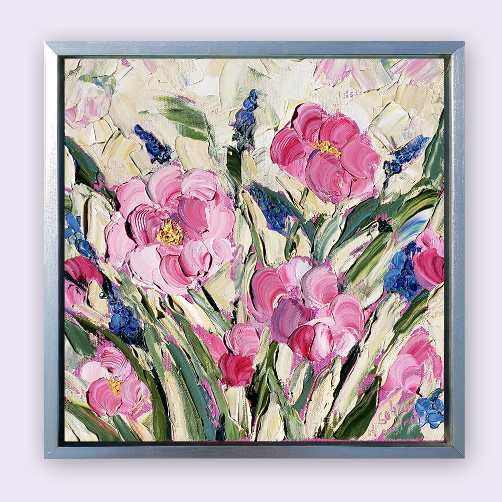 Camelia Beauty 14×14 hung for web