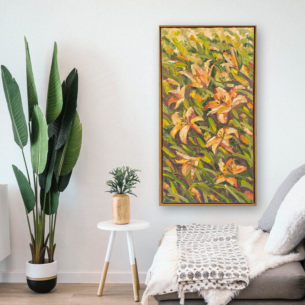 Day Lilies hung 50×26 low res