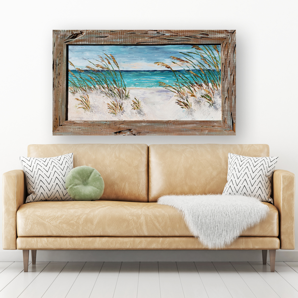 Gulf Breeze 57×32 hung low res