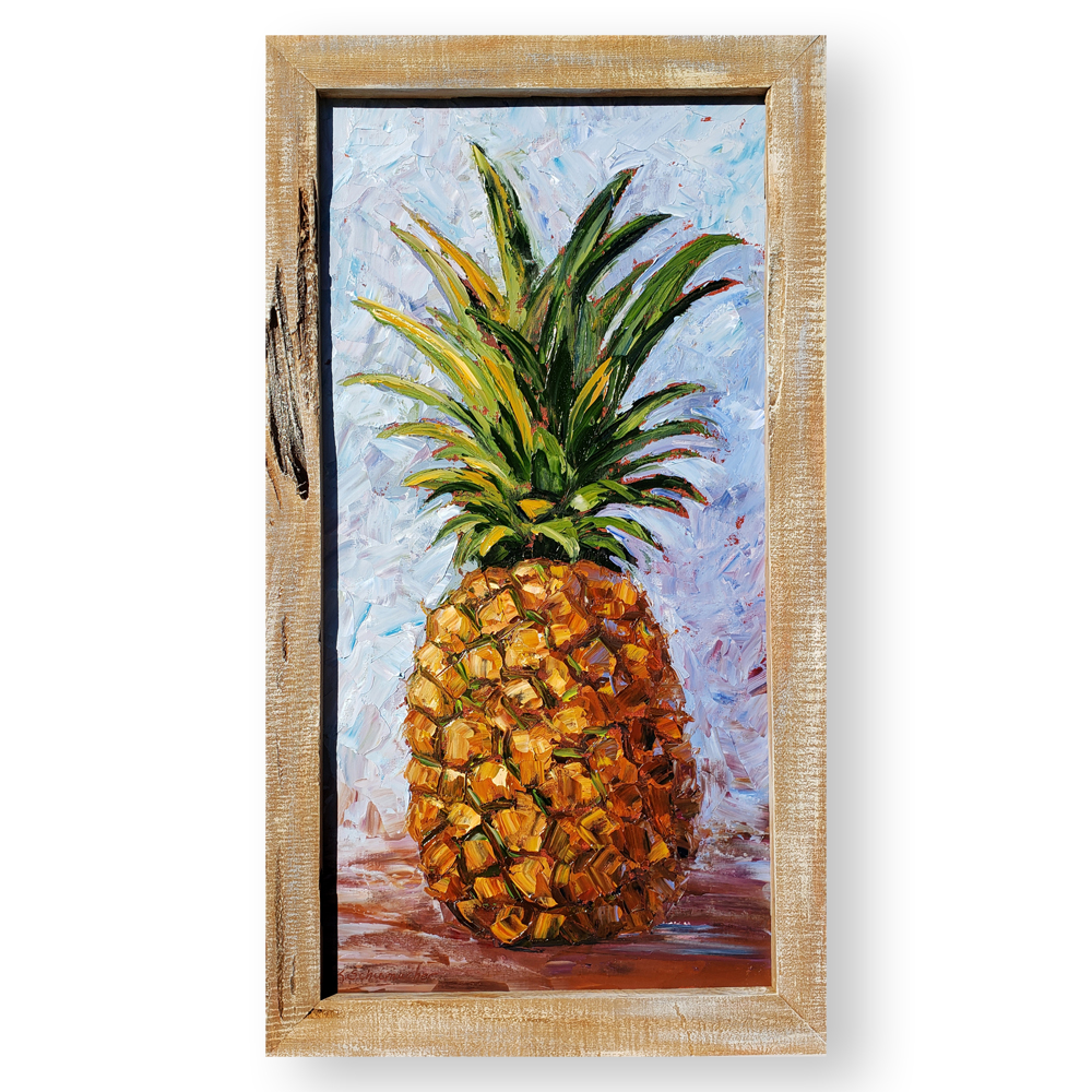 Hawaiian Time framed white background 34×19 low res