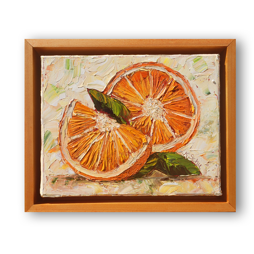 Just an orange 10×8 framed hung low res