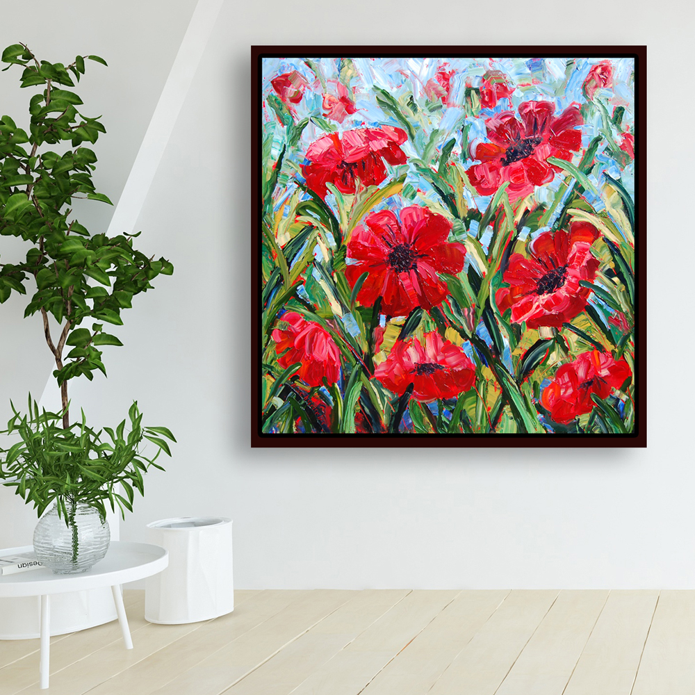 Raging Reds hung 50×50 for web