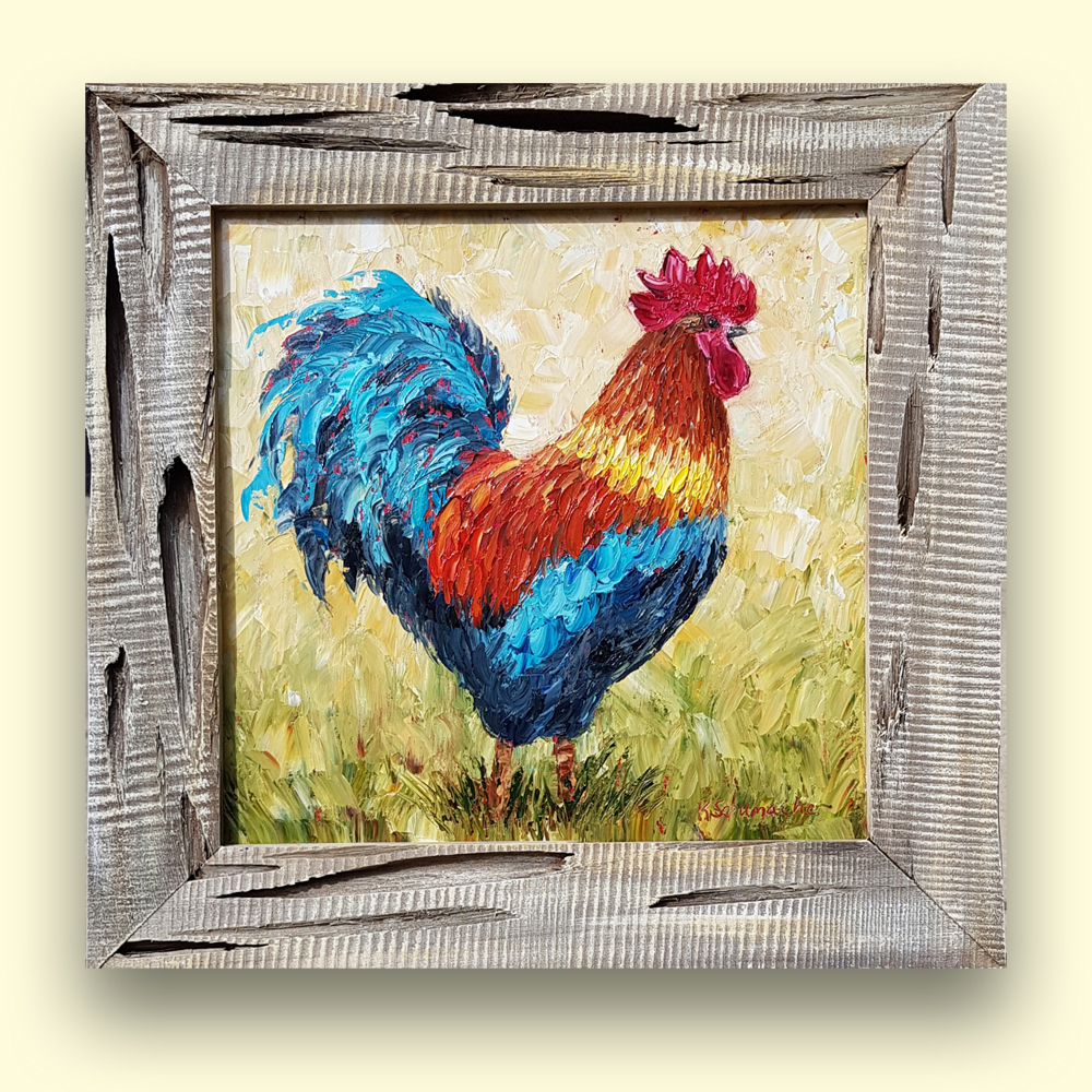 Regal rooster 24×24 for web