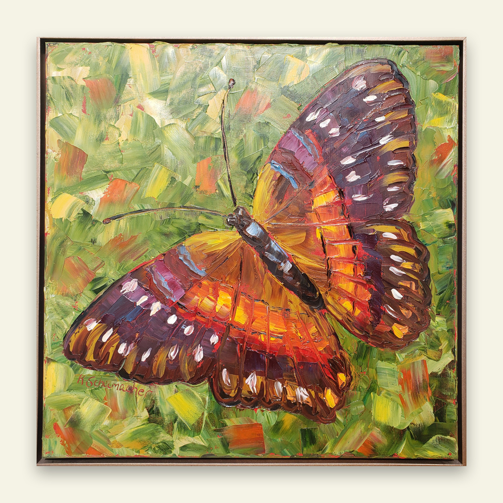 Spring Butterfly 26×26 for web