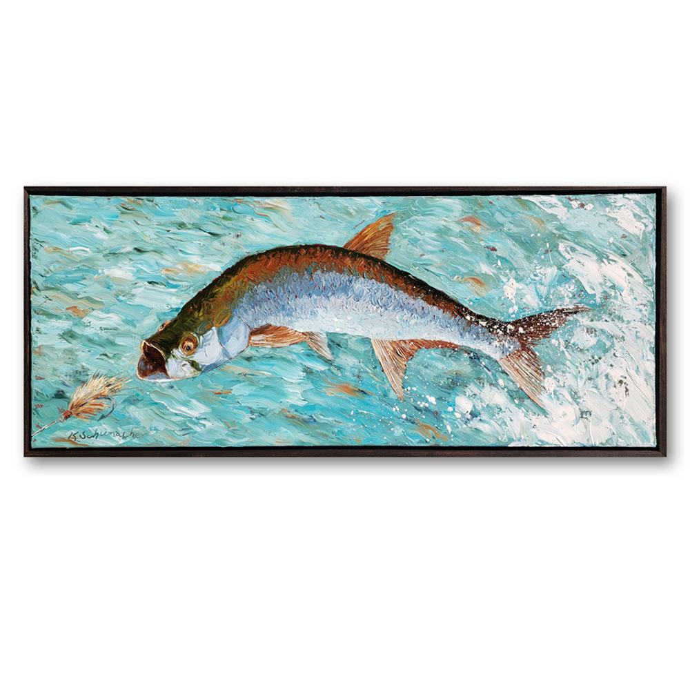 Tarpon 16×40 hung on white for web