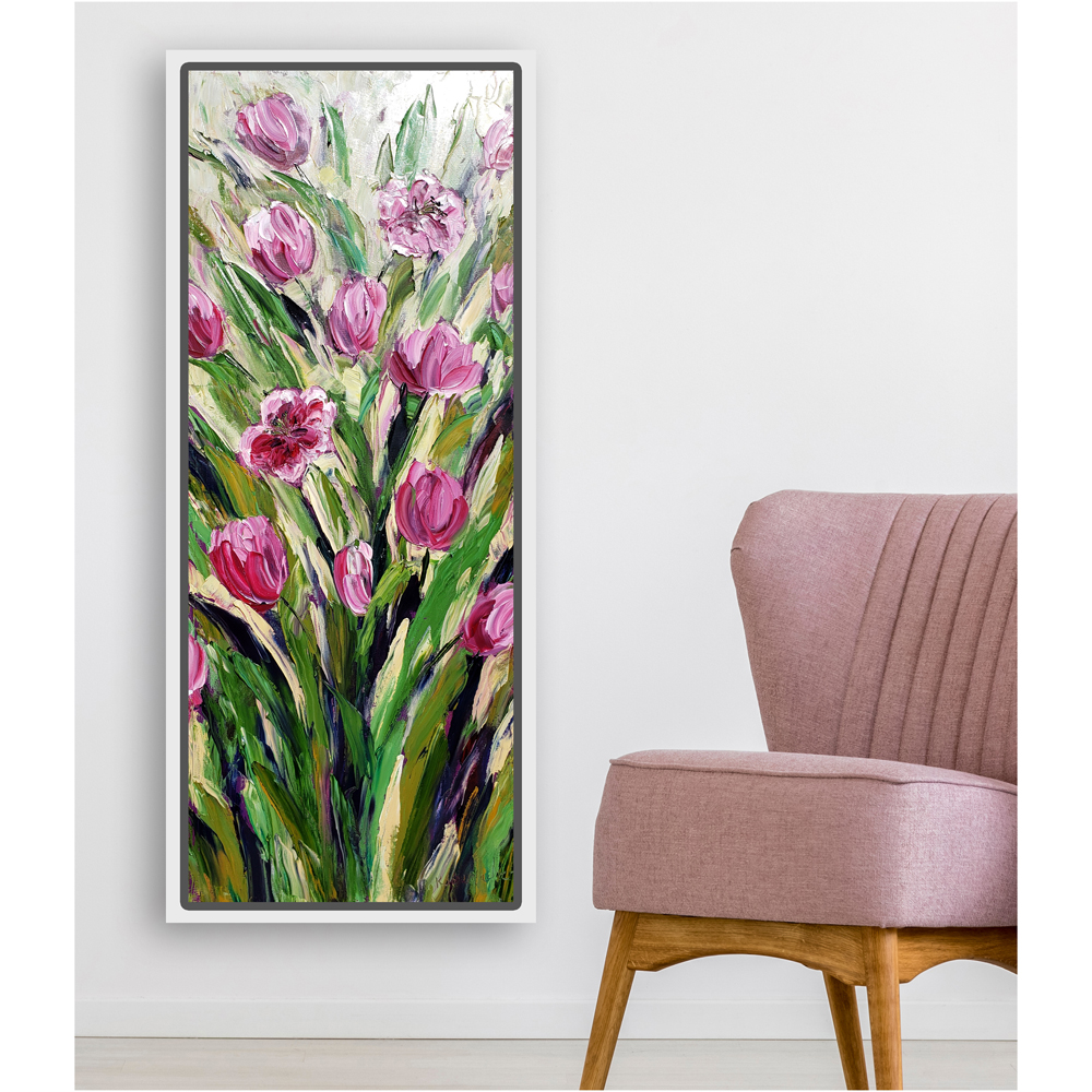 Tulips in Pink hung low res