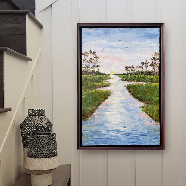 bayou beauty 38×26 hung for web