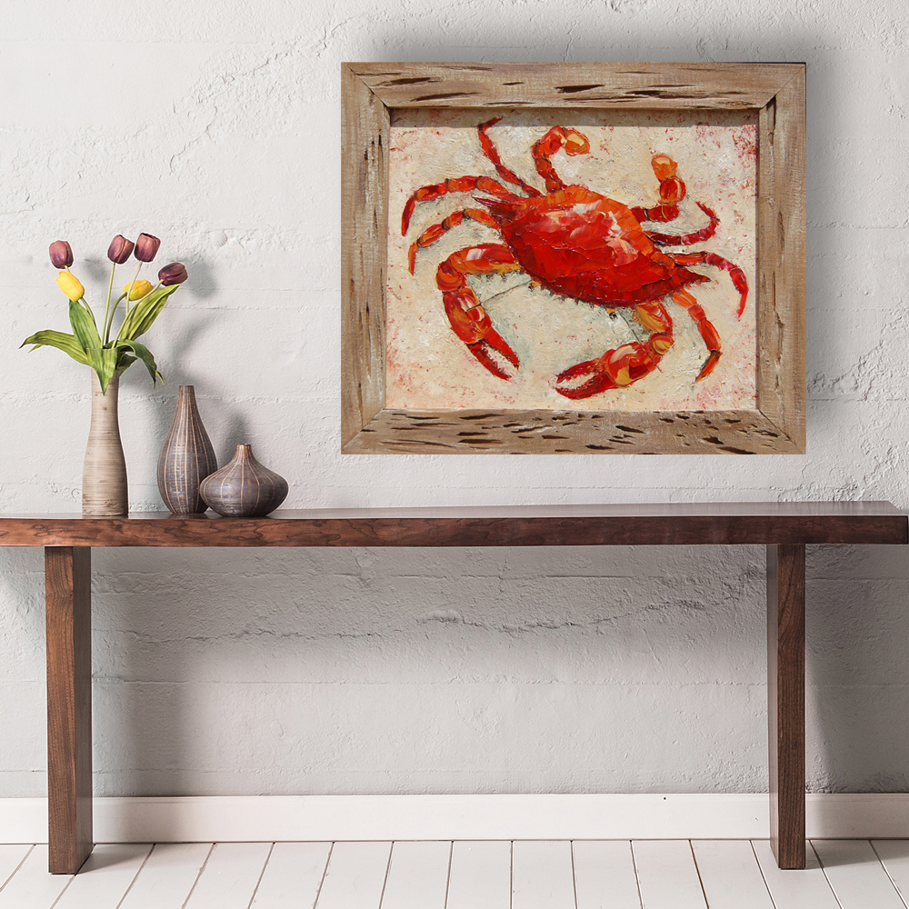 cajun crab 21×25 hung virtual for web