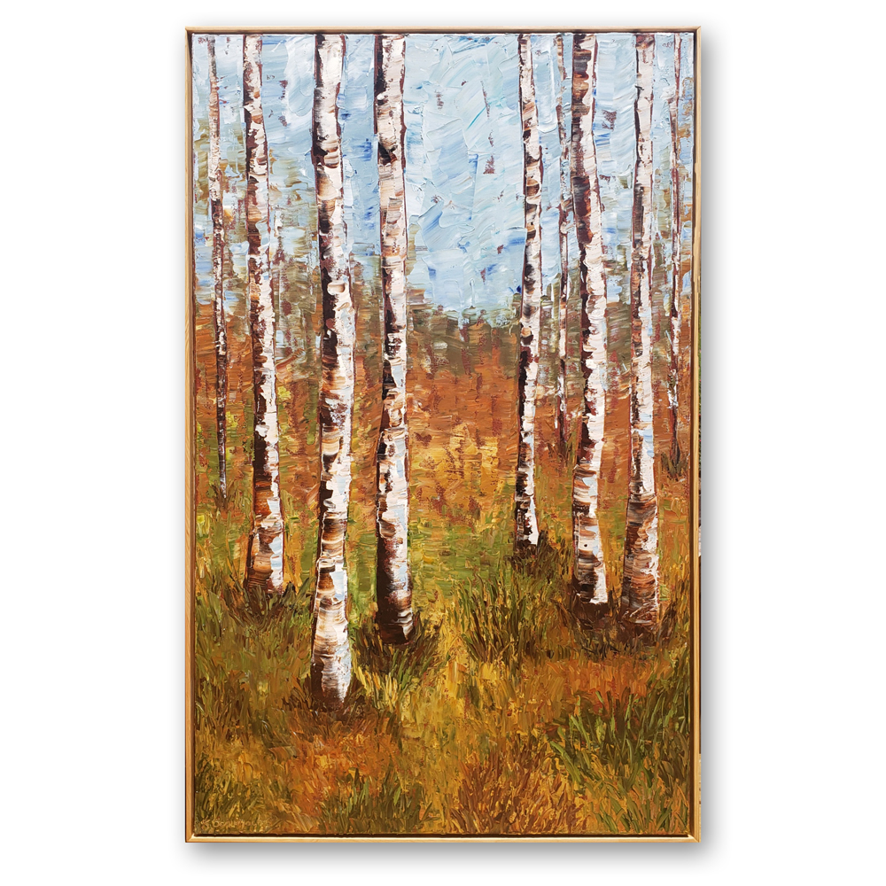 forest beauty 50×32 framed on white low res