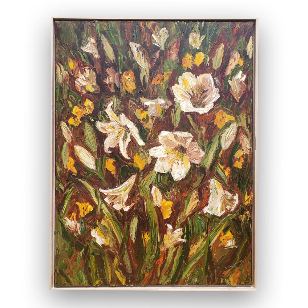 lilies blanca