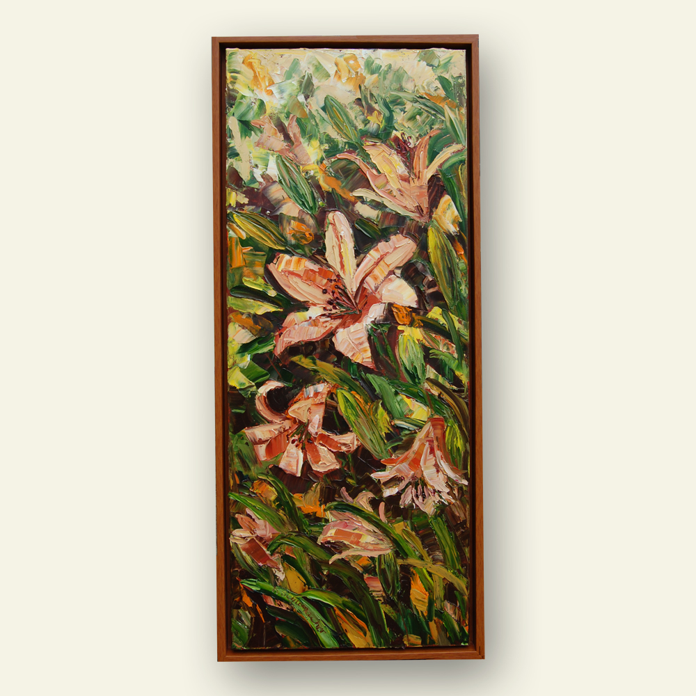 luminuous lilies 42×18