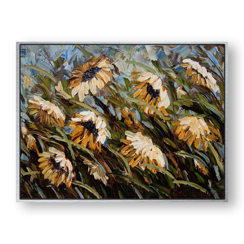 windblown beauties 32×42 hung white background. jpg