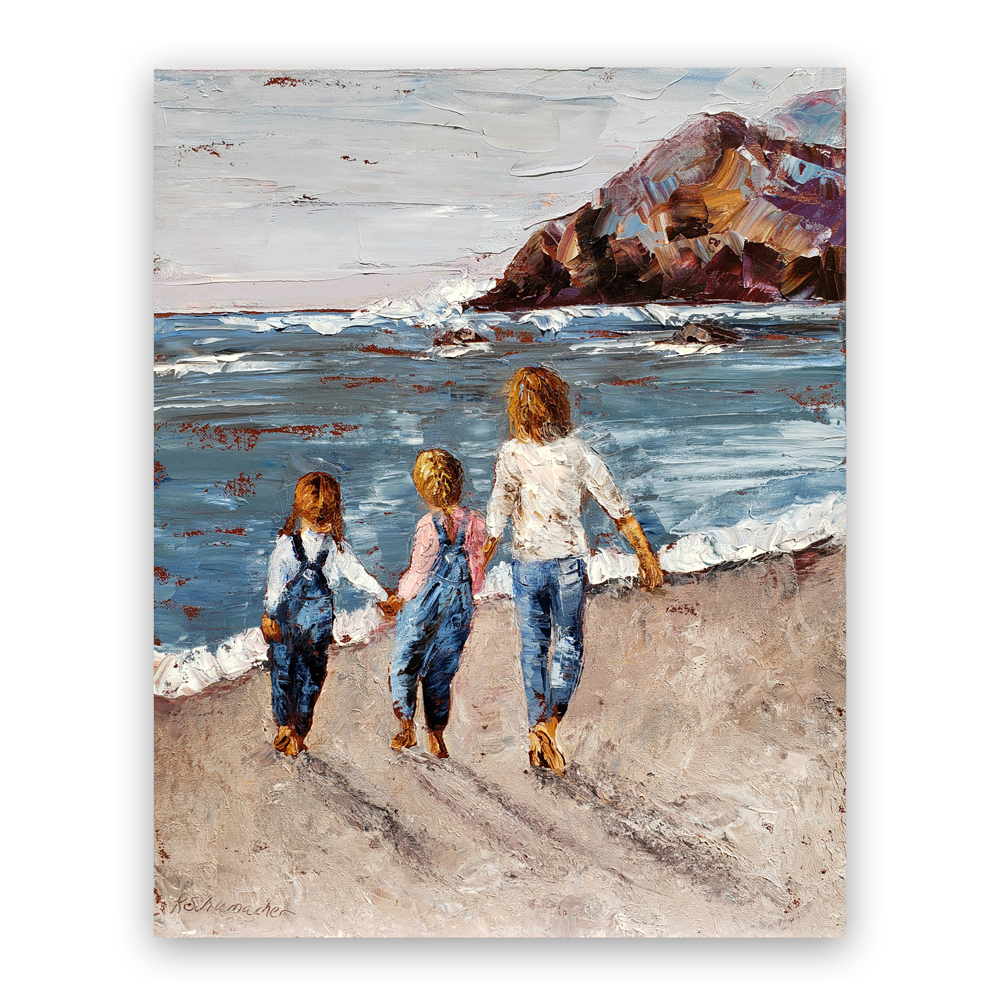 Coastal Hike hung 20×16 for web