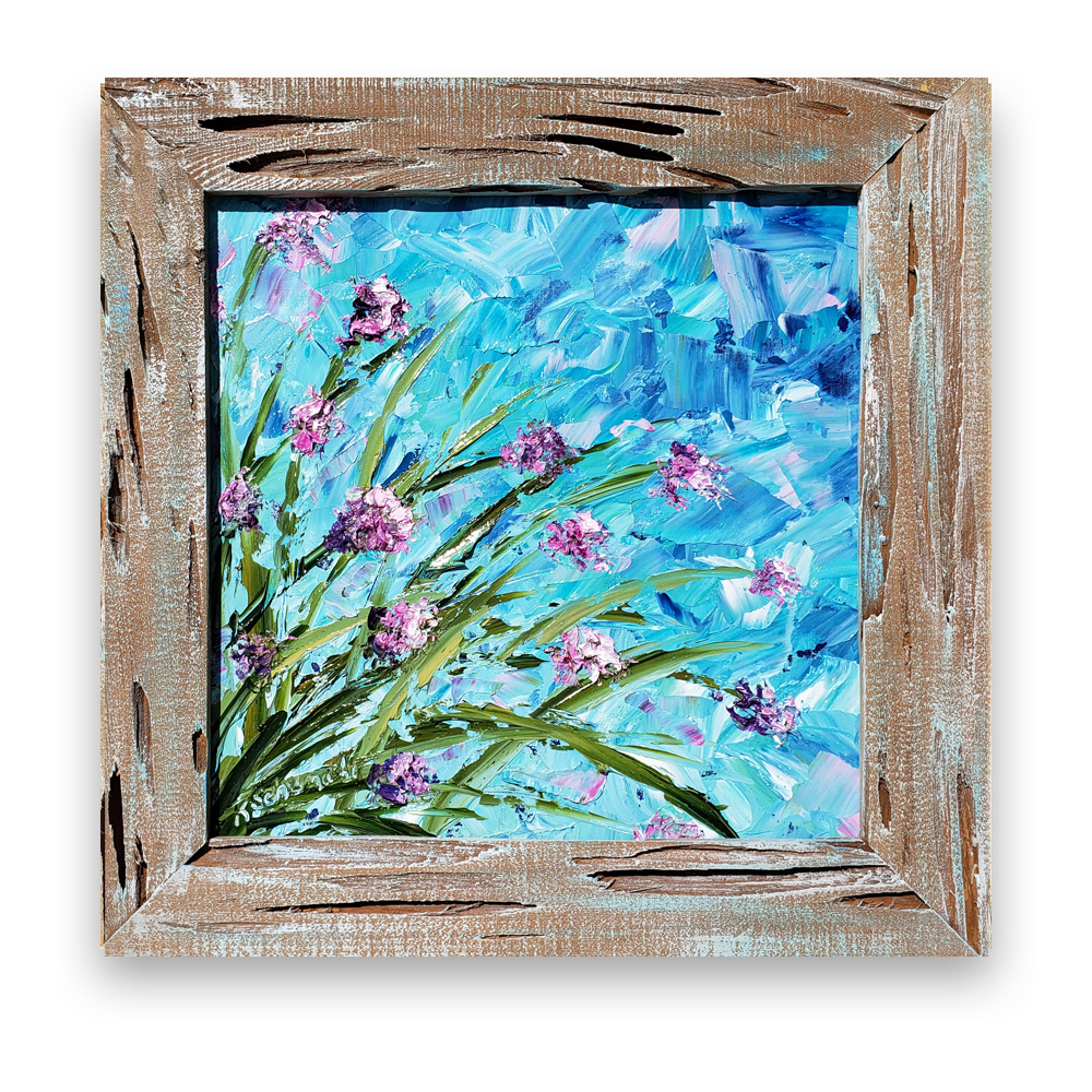 Seaside Bloom 21×21 on white background for web