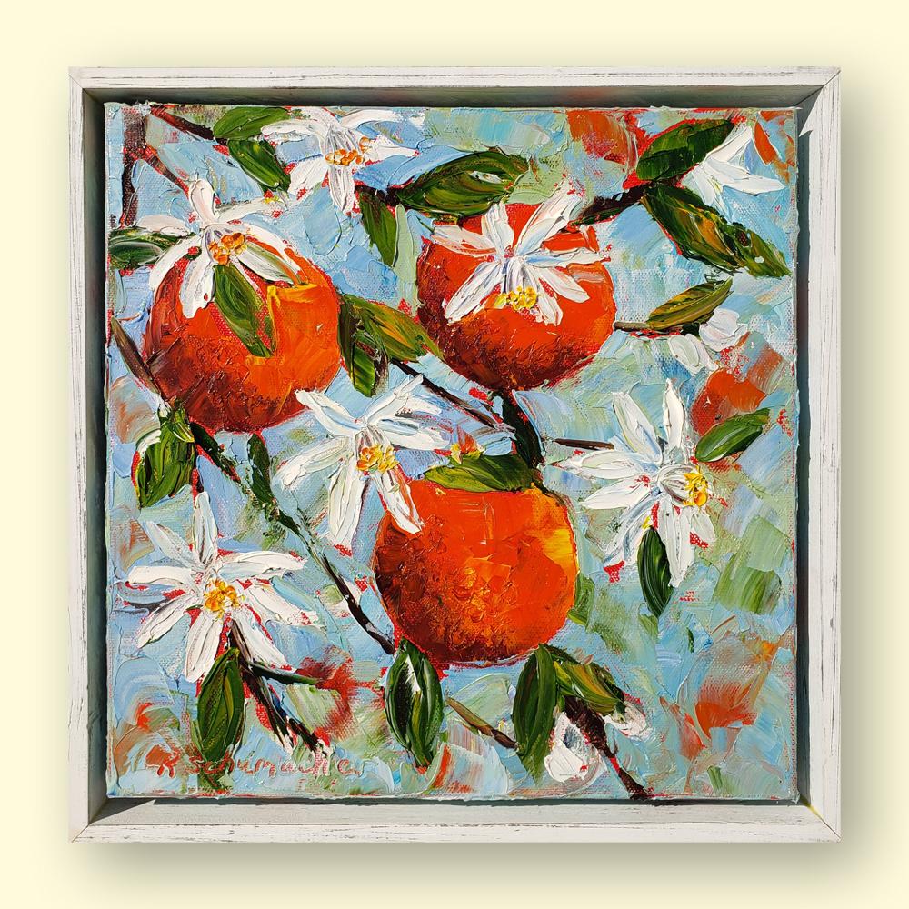 Orange Blossom Special hung 14×14 for web