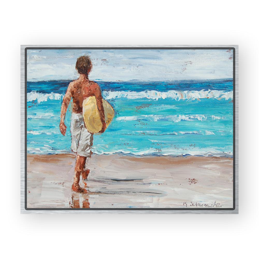 Surf Boy 11×14 framed for web