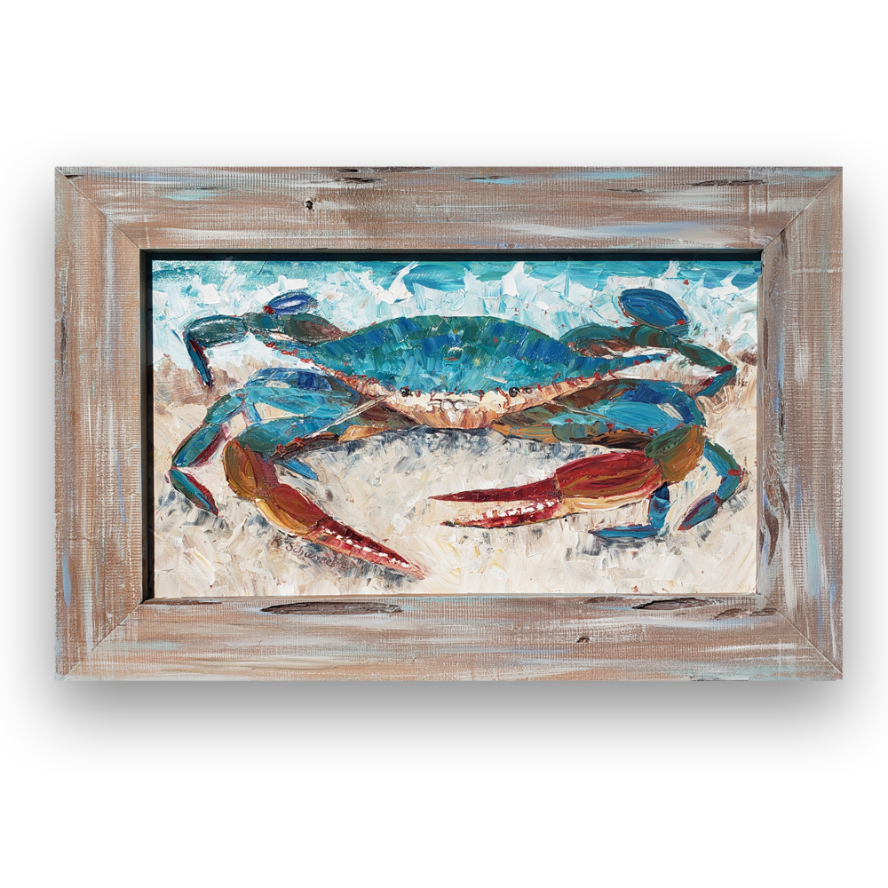 crab claws framed on backgroundlow 18×27