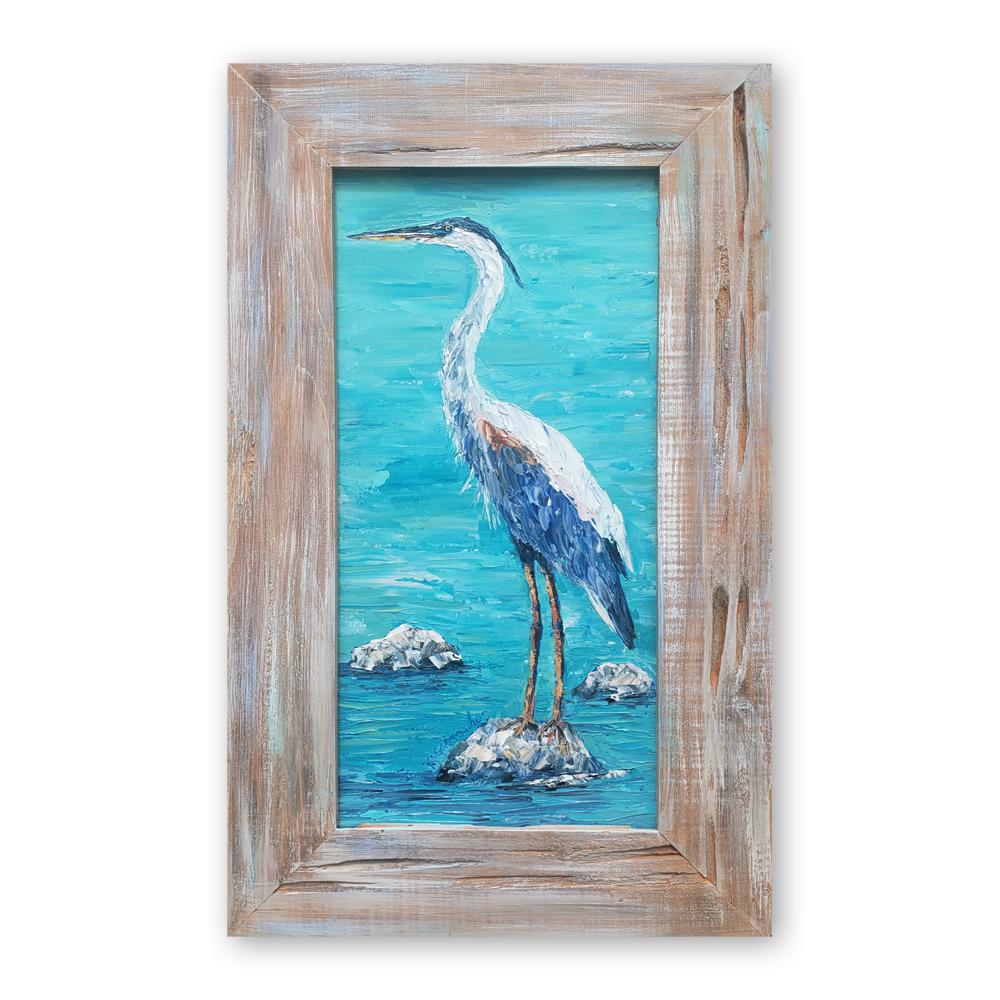 Bird Rock on Background low 32×19