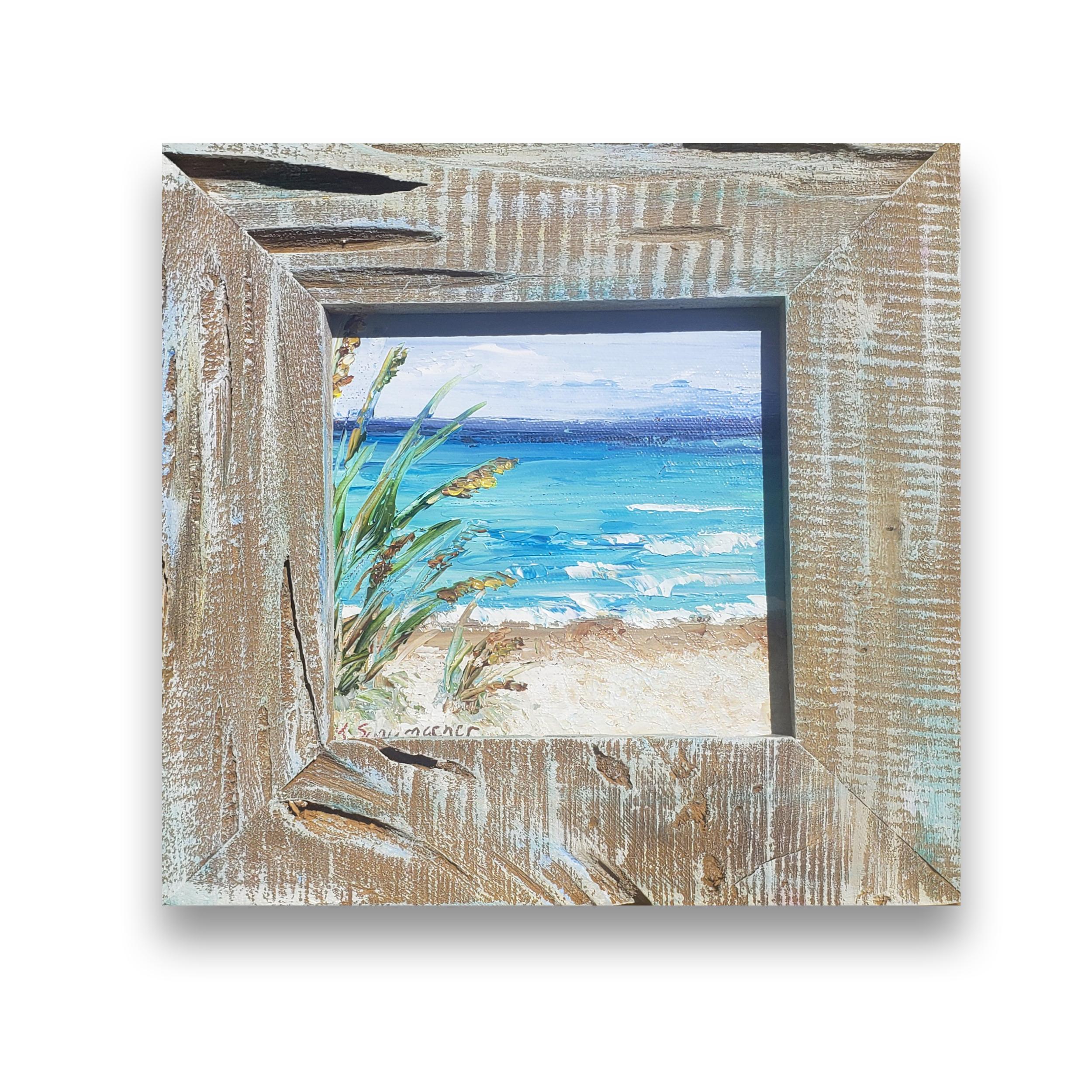 Beach Petite 9.5×9.5 full on bg