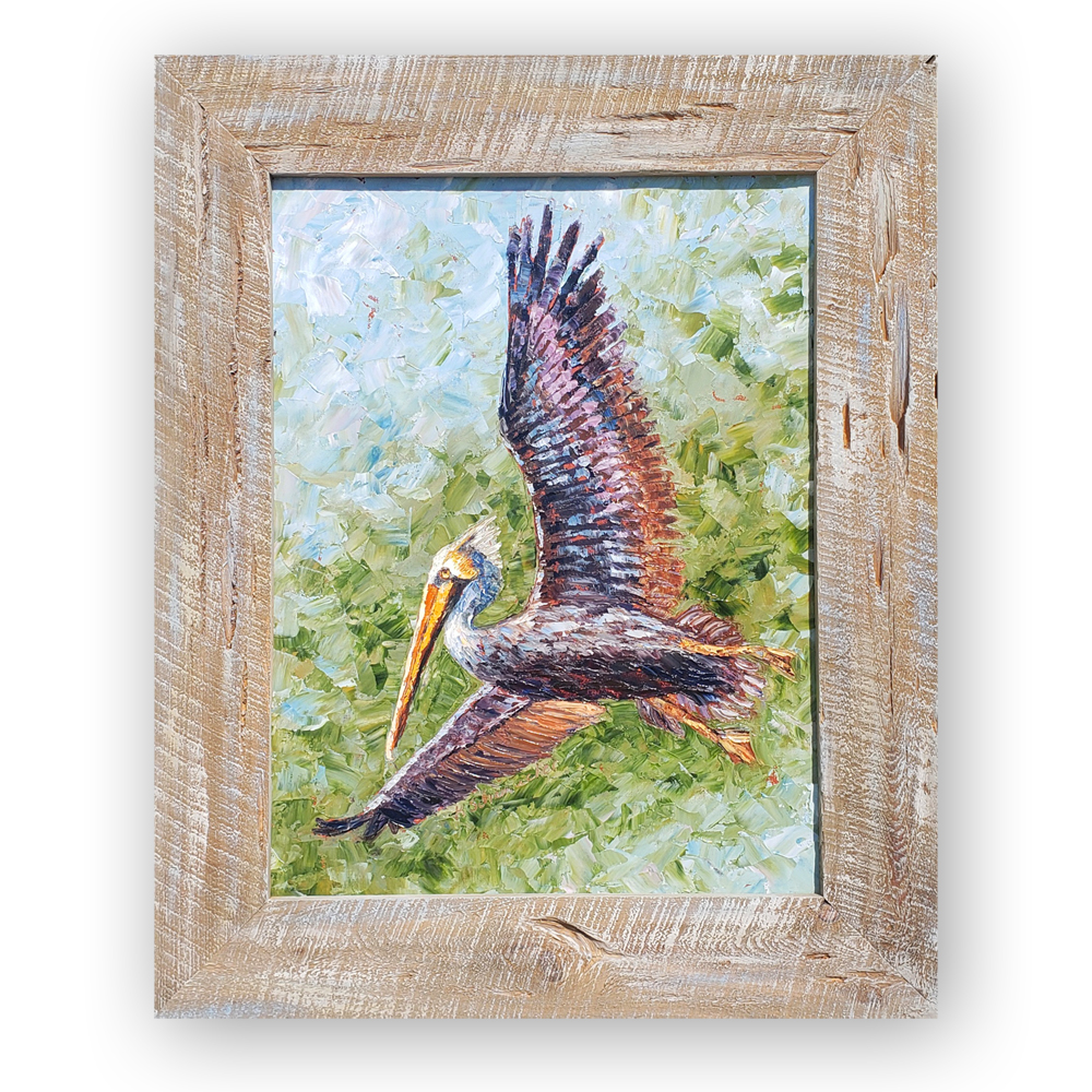 Pelican Perfection framed bg low 32×26